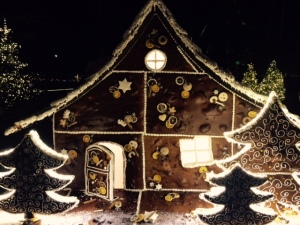 Gingerbread house at Baur au Lac, Zurich